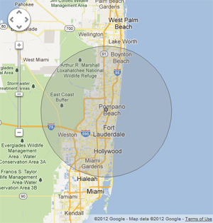 South Florida Service Area for Air Conditioner and Appliance services